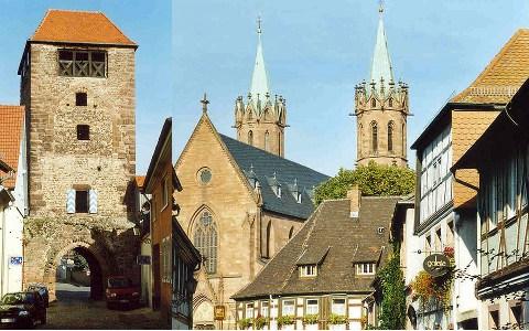 Ladenburg Altstadt